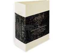 Graphic 45 Rectangle Pocket & Tags Album Ivory