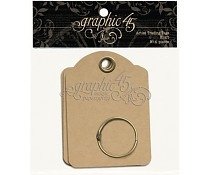 Graphic 45 Artist Trading Tags Kraft