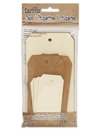 Tim Holtz Distress Tags