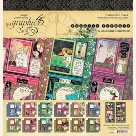 Graphic 45 Fashion Forward 12x12 Collection Pack