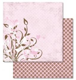 """Ursus Scrapbookpapier """"Liefde"""" Motief 27"""
