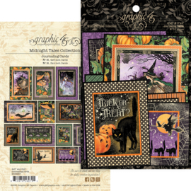 Graphic 45 Midnight Tales Journaling Cards