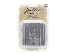 Tim Holtz Idea-ology Stencil Chips Silver