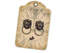 Graphic 45 Lion Head Door Knockers