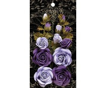 Graphic 45 Rose Bouquet Collection French Lilac & Purple Royalty