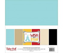 Echo Park Wish Upon A Star 12x12 Inch Sollids Kit