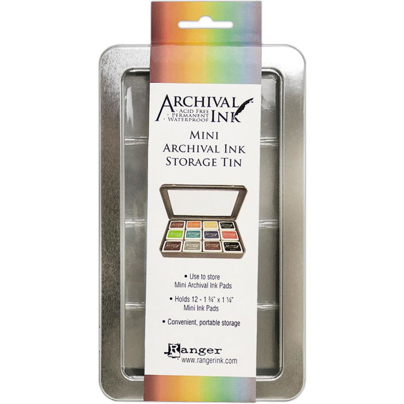Mini Archival Ink Storage Tin