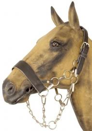 voorbreng halster leder bruin trekpaard