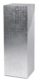 Luxe Sokkel van bladzilver met diverse laklagen, afmetingen L40 x B40 x H120 cm