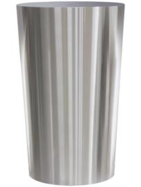 RVS plantenbak, conische vorm 'Panache' op ring Ø48 x H80cm