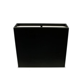 Polyester plantenbak `Oblong` 80x40x80cm