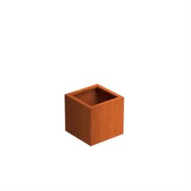 Cortenstaal plantenbak 'Basic' 470x470x500 mm