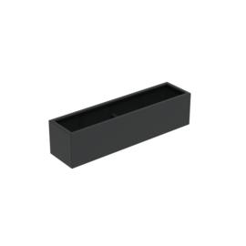 Aluminium plantenbak `Border` 2000x500x500mm