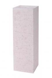 Polystone sokkel Sand, afmetingen L30 x B30 x H80 cm