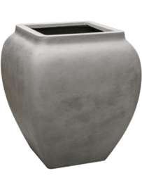Polyester plantenbak 'Water jug' L65 x B65 x H75 cm