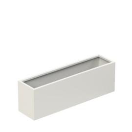 Aluminium plantenbak 'Border Basic' 1200x300x400 mm