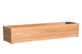 Hardhouten plantenbak `Santa Cruz` 3000 x 500 x 574mm