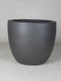 Keramiek plantenbak 'Mirella' zandstructuur  Ø68 x H57 cm