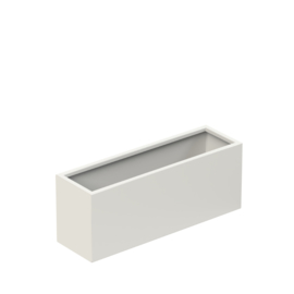 Aluminium plantenbak 'Border Basic' 1000x300x400 mm