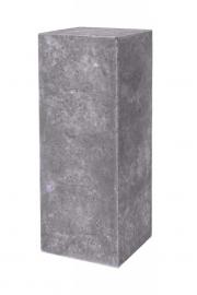 Polystone sokkel Grey, afmetingen L30 x B30 x H80 cm