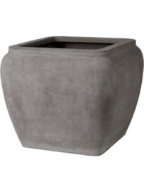 Polyester plantenbak 'Water jug' L65 x B65 x H53 cm