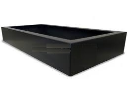 Polyester plantenbak `Oblong` 223x100x32cm