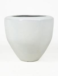 Keramiek plantenbak  'Adana' wit D54 x H48 cm