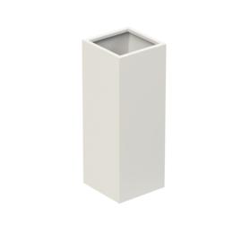 Aluminium plantenbak `Rockefeller Basic` 370x370x1000mm