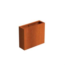 CorTenstaal plantenbak 'Premium' 900x300x800mm