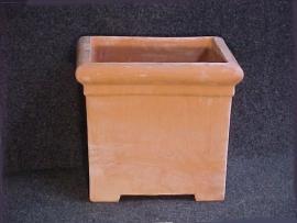 Handgemaakte Terracotta bak `Tinozzo Empoli ` H40xB45