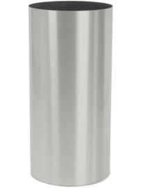 RVS plantenbak - geborsteld, cilindervorm 'Brio' Ø40 x H75cm