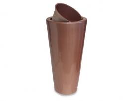 Polyester plantenbak 'Conic' Ø 55x100 met inzetbakje