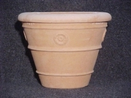 Handgemaakte Terracotta pot `Vaso Michelangelo` Ø52xH41