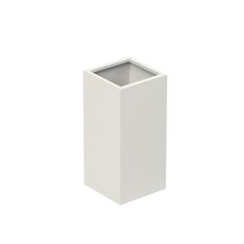 Aluminium plantenbak `Rockefeller Basic` 370x370x800mm