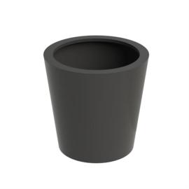 Aluminium plantenbak `San Francisco` Ø800 x H800mm