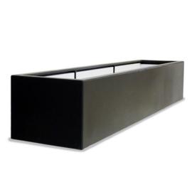 Polyester plantenbak `Oblong` 230x50x40cm