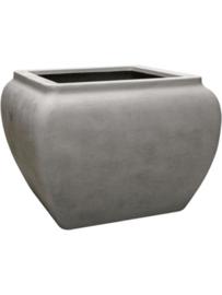 Polyester plantenbak 'Water jug' L80 x B80 x H65 cm