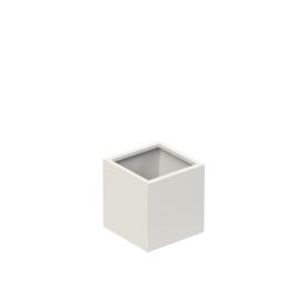 Aluminium plantenbak `Rockefeller Basic` 370x370x400mm