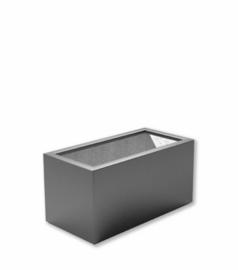 Polyester plantenbak `Oblong` 70x35x40cm