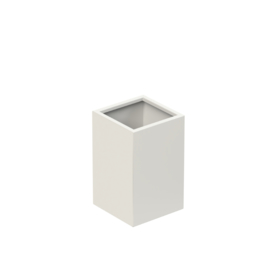 Aluminium plantenbak `Rockefeller Basic` 370x370x600mm