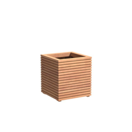 Hardhouten plantenbak 'Salinas' 600x600x608mm