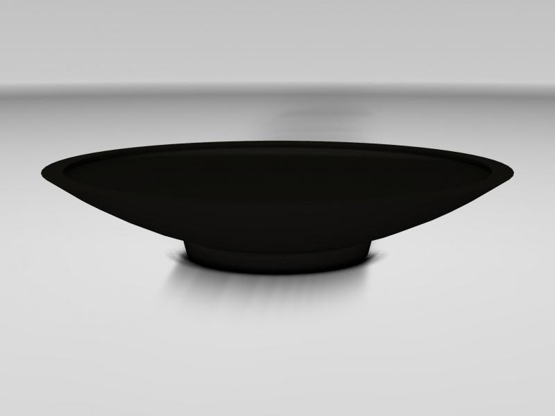 UHPC schaal 'Curva', afmetingen Ø150 x H40 cm