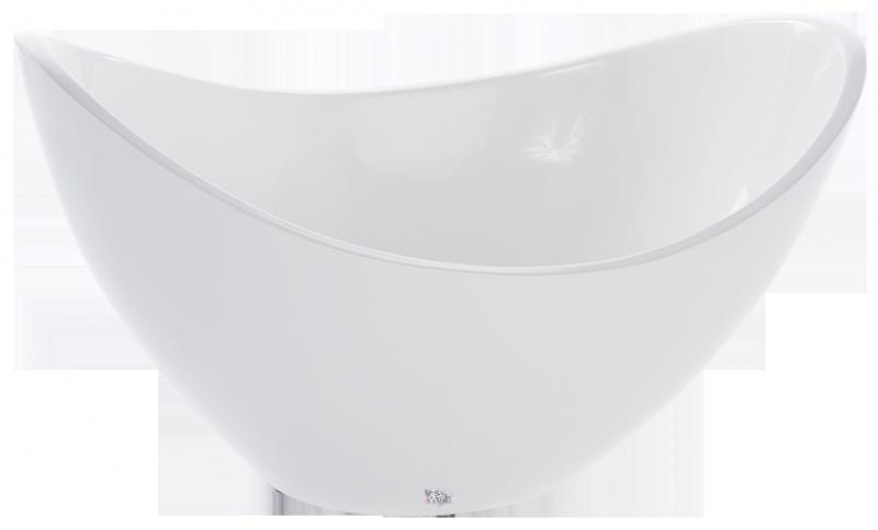 Schaal `Firenze` Kleur: Helderwit. Afmetingen: H60 x B80 x D45 cm