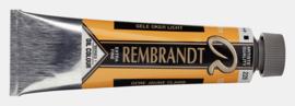 228 gele oker licht - Rembrandt olieverf 15 ml