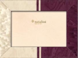Natalini fotolijst - 13 x 18 cm - violet/wit  Dodi