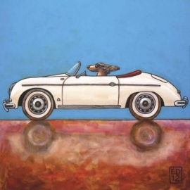 EDART white 356 - wenskaart / ansichtkaart