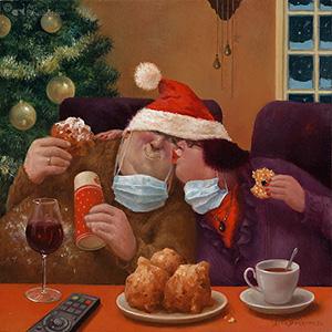Marius van Dokkum kerstkaarten