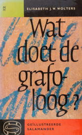 Sal080/1 - Elisabeth J.W. Wolters - Wat doet de grafoloog?