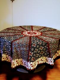 Rond Batik Katoenen Tafelkleed