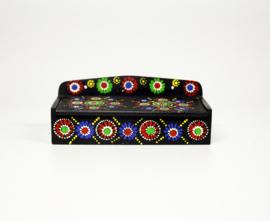 Vintage Beschilderd Kammen bakje